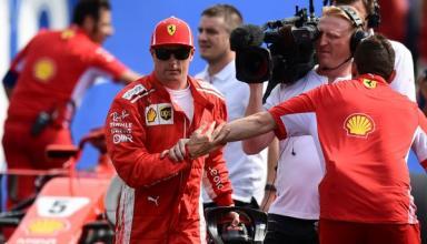 Кими Райкконен впервые в сезоне выиграл квалификацию Гран-при