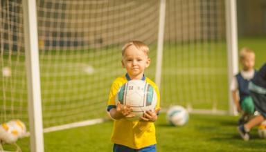 В этом году для детей было проведено рекордное количество футбольных фестивалей