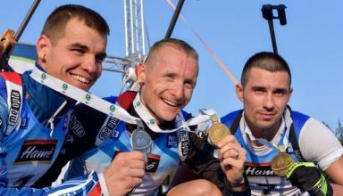 Артем Прима выиграл медаль летнего чемпионата мира по биатлону