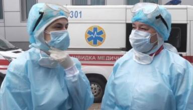 В Украине на COVID-19 за сутки заболело около 100 медработников