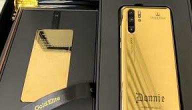 В сети показали золотой Huawei P30 Pro