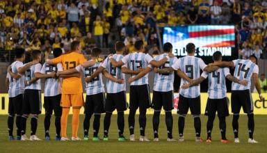 Сборная Аргентины по футболу попалась на контрабанде