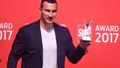 Владимир Кличко получил награду