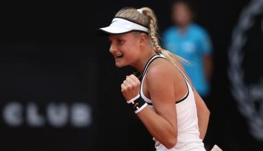 17-летняя украинка выиграла свой дебютный матч в квалификации