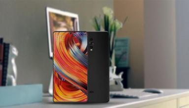 Безрамочный Xiaomi Mi Mix 3 выйдет 15 сентября