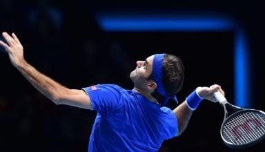 Федерер обыграл Тима на Итоговом турнире ATP