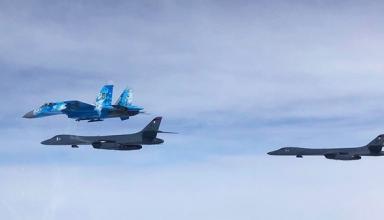 Стратегические бомбардировщики ВВС США впервые интегрировались с украинскими самолетами