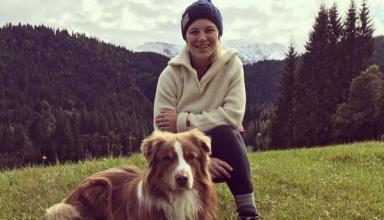 Биатлонистка Мириам Гесснер родила девочку
