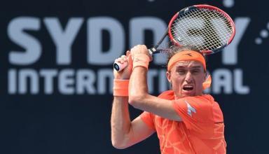 Александр Долгополов проиграл во втором туре турнира в Сиднее