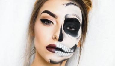 Макияж на Хэллоуин: идеи для вечеринки