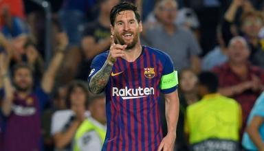 Месси первым в истории оформил восьмой хет-трик в Лиге чемпионов