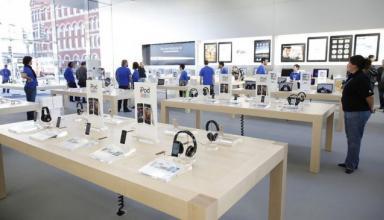 «Apple головного мозга»: под патенты подпадают даже магазины