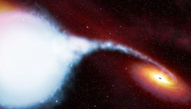 У центра Млечного Пути нашли скопление огромных черных дыр