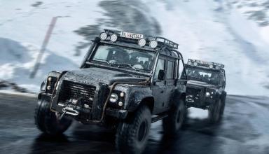 Land Rover Defender из фильма о Джеймсе Бонде продадут за 220-250 тысяч фунтов