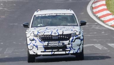 Появилась первая фотография «заряженного» Skoda Kodiaq RS