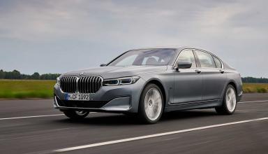 Седаны BMW 7-Series обзавелись более мощным гибридным дизелем