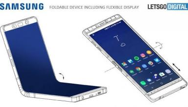 Складной смартфон Samsung Galaxy X похож на Galaxy Note 8 и оснащен тремя экранами