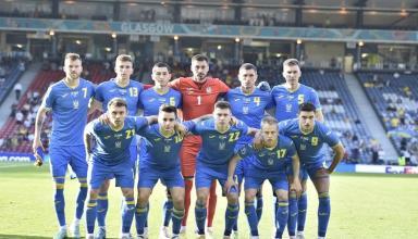 Два футболиста Динамо стали лучшими игроками сборной Украины в матче со Швецией по беговой работе