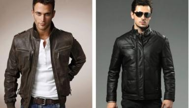 Советы по выбору мужской кожаной куртки