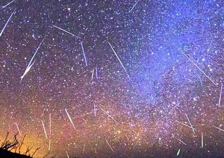 В ночь на пятницу украинцы увидят пик звездопада Персеиды