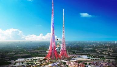 Китайцы планируют строить многокилометровые небоскребы