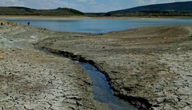 Февральские осадки лишь частично пополнили запасы воды в Крыму