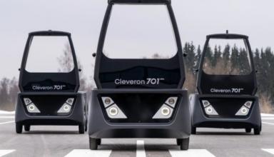 В Эстонии представили робота-курьера