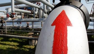 Украина увеличила транзит газа на четверть