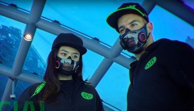 Умные маски. Главная выставка техники CES-2021Сюжет