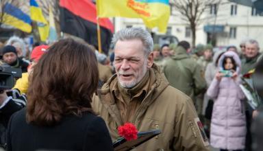 В Киеве отметили День украинского добровольца: как это было