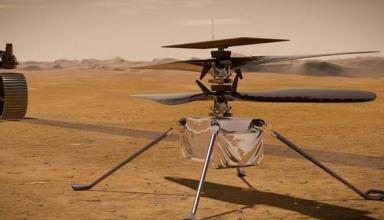 NASA перенесли первый запуск вертолета на Марсе