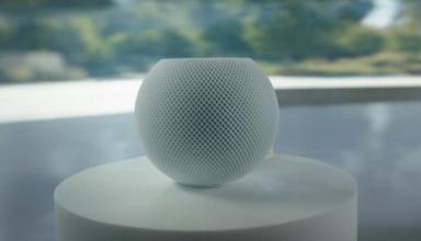 Apple анонсировала умную колонку HomePod mini