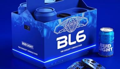 Bud выпустит «пивную консоль» BL6, чтобы играть в Tekken под пивко когда угодно и где угодно