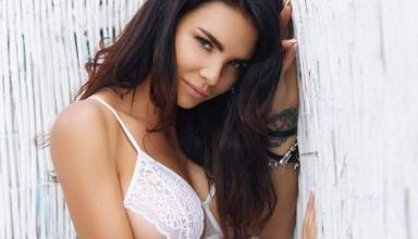 Украинская эротическая модель обнажила пышную грудь в Instagram