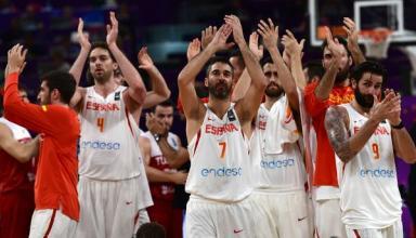 Сборная Испании вышла в четвертьфинал Евробаскета-2017