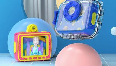 BlitzWolf BW-KC2: детский фотоаппарат для подводной съёмки за $28