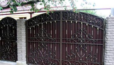 Главные достоинства и особенности кованых ворот